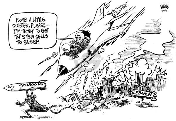 Dwane Powell  Dwane Powell's Editorial Cartoons 2006-07-20 Middle East