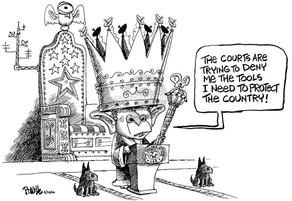Cartoonist Dwane Powell  Dwane Powell's Editorial Cartoons 2006-08-21 lawsuit