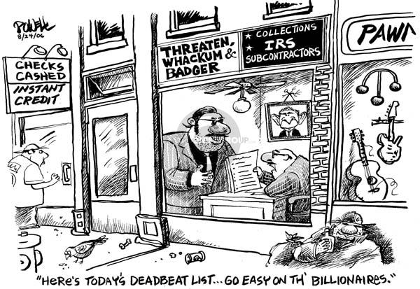 Cartoonist Dwane Powell  Dwane Powell's Editorial Cartoons 2006-08-24 credit