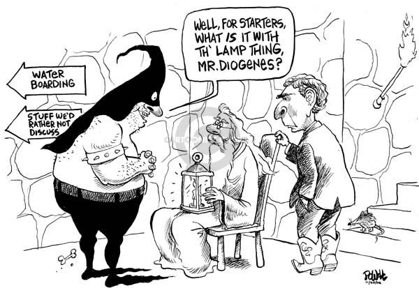Cartoonist Dwane Powell  Dwane Powell's Editorial Cartoons 2006-09-21 ethics