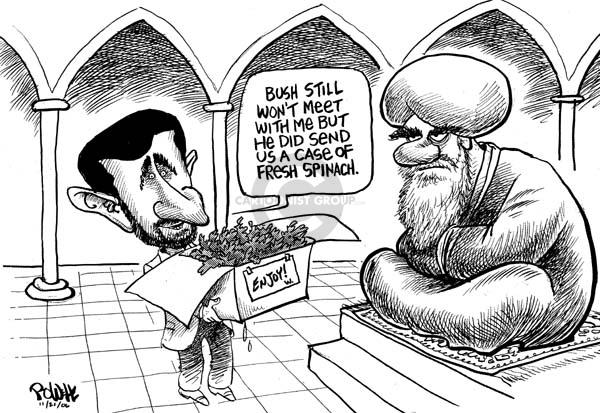 Cartoonist Dwane Powell  Dwane Powell's Editorial Cartoons 2006-09-21 nuclear