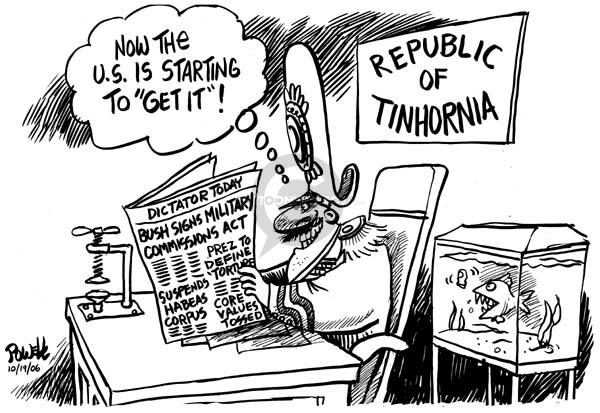 Cartoonist Dwane Powell  Dwane Powell's Editorial Cartoons 2006-10-20 start