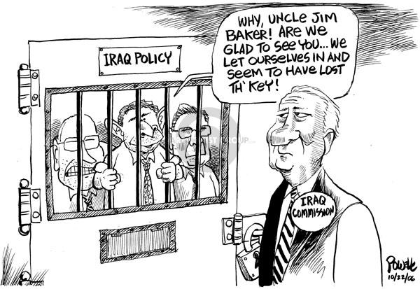 Cartoonist Dwane Powell  Dwane Powell's Editorial Cartoons 2006-10-25 bipartisan