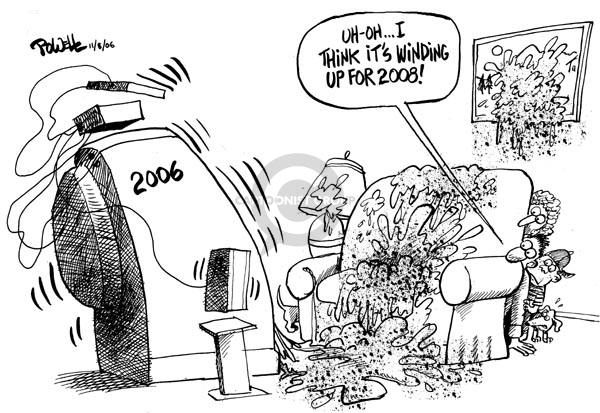 Dwane Powell  Dwane Powell's Editorial Cartoons 2006-11-09 2006
