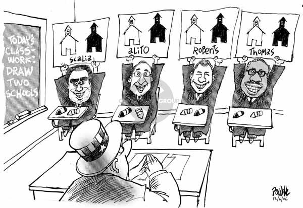Dwane Powell  Dwane Powell's Editorial Cartoons 2006-12-06 civil rights