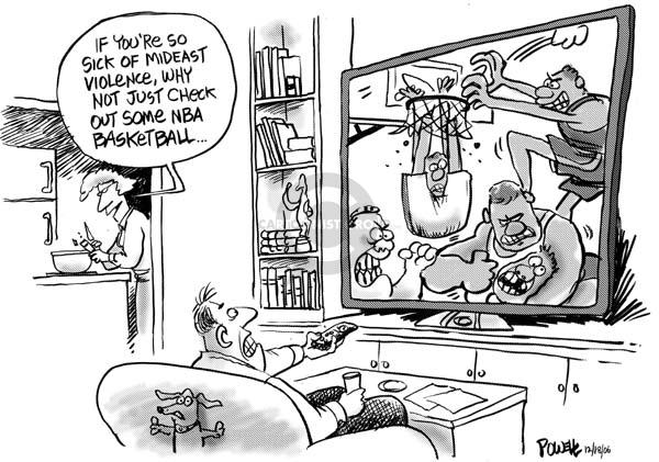 Dwane Powell  Dwane Powell's Editorial Cartoons 2006-12-20 distraction