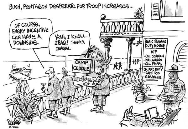 Dwane Powell  Dwane Powell's Editorial Cartoons 2006-12-21 Johnson