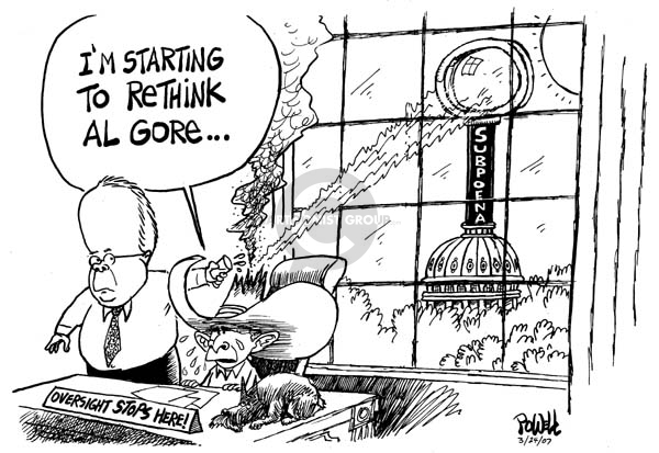 Cartoonist Dwane Powell  Dwane Powell's Editorial Cartoons 2007-03-27 George W. Bush congress