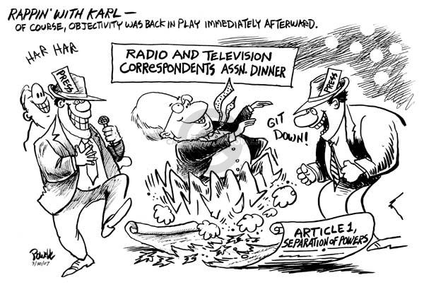 Cartoonist Dwane Powell  Dwane Powell's Editorial Cartoons 2007-03-30 separation