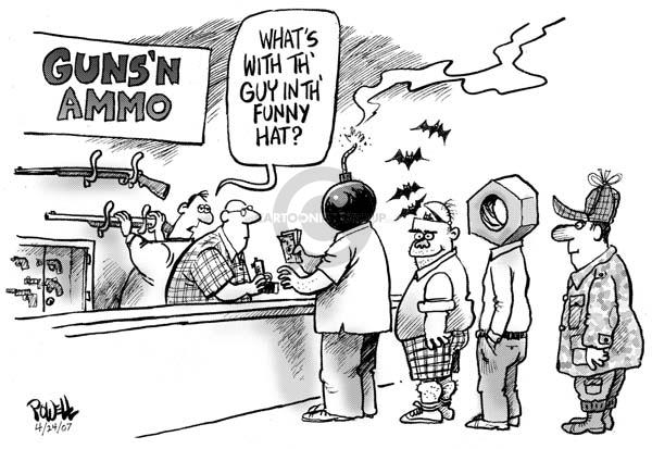 Dwane Powell  Dwane Powell's Editorial Cartoons 2007-04-24 civil rights