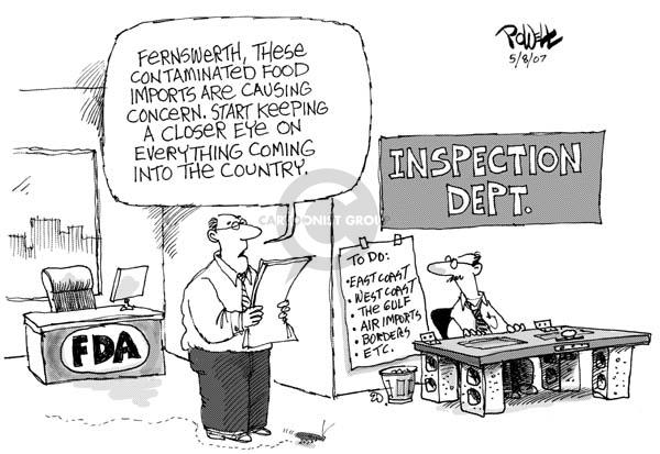 Cartoonist Dwane Powell  Dwane Powell's Editorial Cartoons 2007-05-10 start
