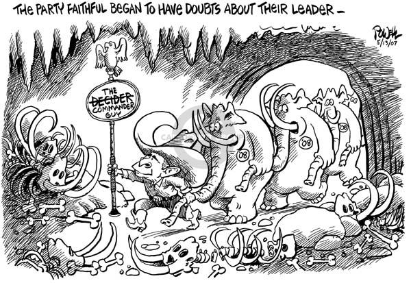 Cartoonist Dwane Powell  Dwane Powell's Editorial Cartoons 2007-05-11 leader
