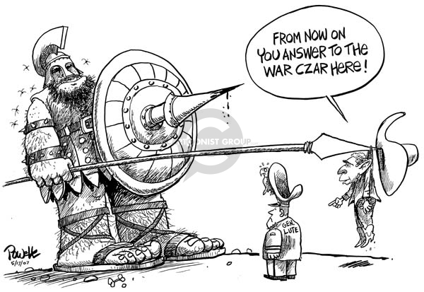 Cartoonist Dwane Powell  Dwane Powell's Editorial Cartoons 2007-05-17 leadership