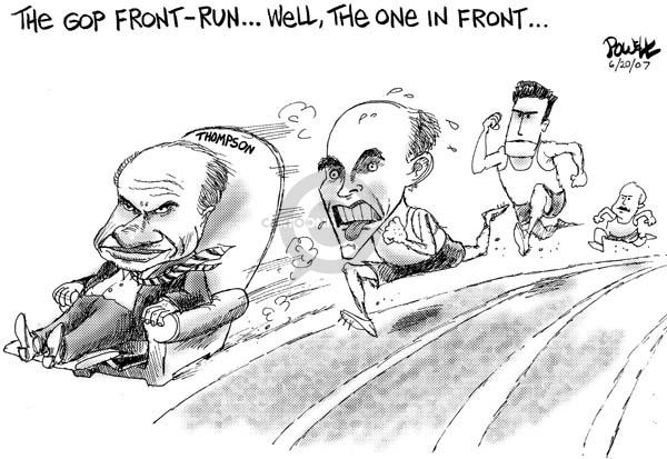 Dwane Powell  Dwane Powell's Editorial Cartoons 2007-06-20 Rudy Giuliani