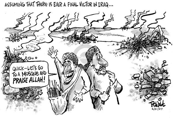 Dwane Powell  Dwane Powell's Editorial Cartoons 2007-06-21 Iraq war