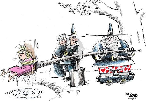 Cartoonist Dwane Powell  Dwane Powell's Editorial Cartoons 2007-07-24 family