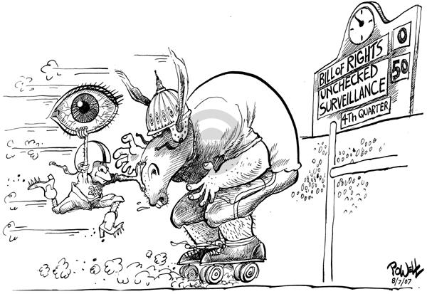 Dwane Powell  Dwane Powell's Editorial Cartoons 2007-08-08 civil rights