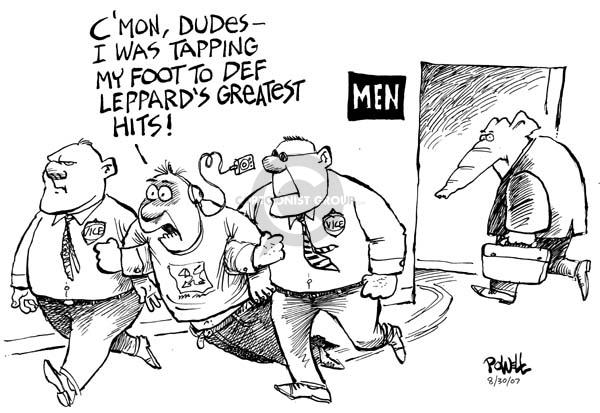Cartoonist Dwane Powell  Dwane Powell's Editorial Cartoons 2007-08-30 room