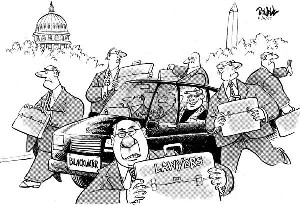 Cartoonist Dwane Powell  Dwane Powell's Editorial Cartoons 2007-11-05 lawyer