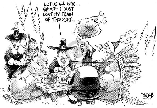 Dwane Powell  Dwane Powell's Editorial Cartoons 2007-11-23 distraction