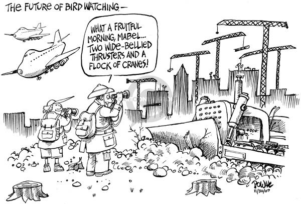 Dwane Powell  Dwane Powell's Editorial Cartoons 2007-12-03 environment