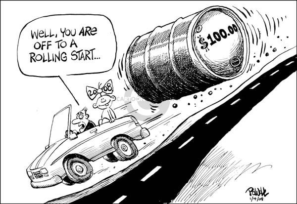 Cartoonist Dwane Powell  Dwane Powell's Editorial Cartoons 2008-01-04 start