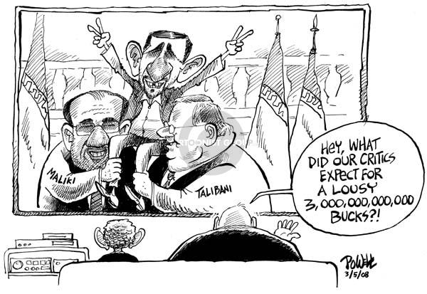 Dwane Powell  Dwane Powell's Editorial Cartoons 2008-03-05 Iraq war