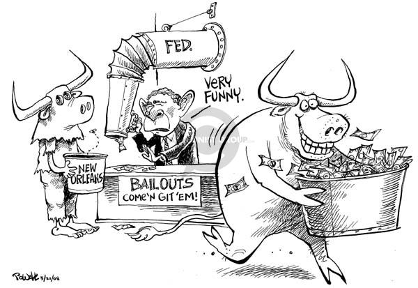 Cartoonist Dwane Powell  Dwane Powell's Editorial Cartoons 2008-03-21 bear
