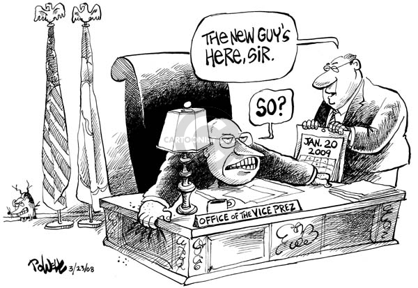 Cartoonist Dwane Powell  Dwane Powell's Editorial Cartoons 2008-03-24 Dick