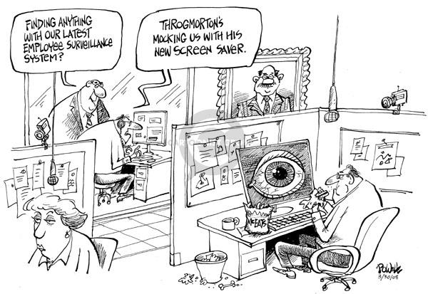 Cartoonist Dwane Powell  Dwane Powell's Editorial Cartoons 2008-03-31 technology