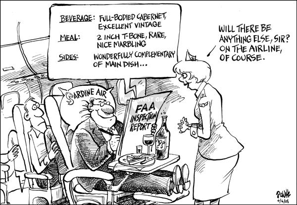 Dwane Powell  Dwane Powell's Editorial Cartoons 2008-04-07 distraction