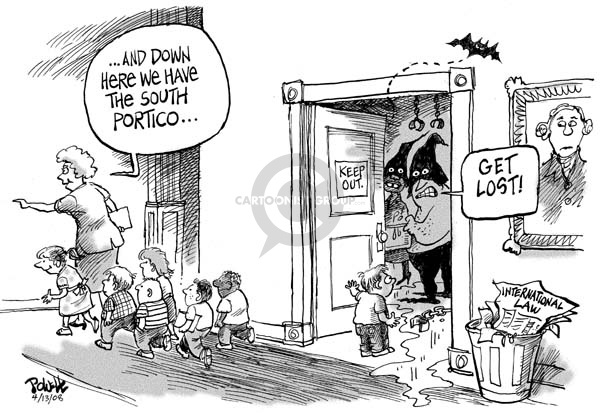 Cartoonist Dwane Powell  Dwane Powell's Editorial Cartoons 2008-04-14 Dick