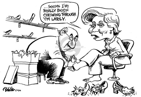 Dwane Powell  Dwane Powell's Editorial Cartoons 2008-05-28 Robert Kennedy