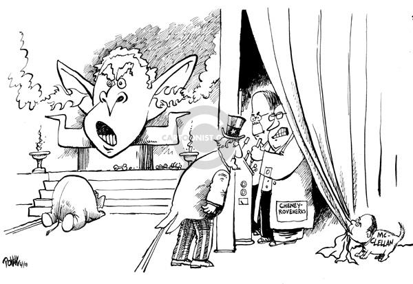 Cartoonist Dwane Powell  Dwane Powell's Editorial Cartoons 2008-06-03 republican president