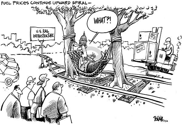 Dwane Powell  Dwane Powell's Editorial Cartoons 2008-06-05 infrastructure