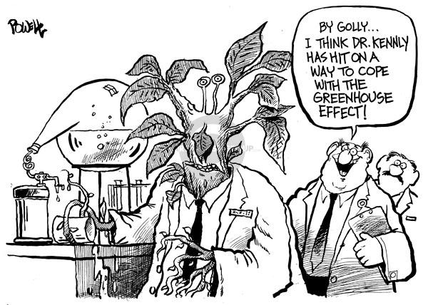 Dwane Powell  Dwane Powell's Editorial Cartoons 2008-07-03 environment