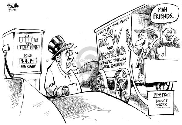 Dwane Powell  Dwane Powell's Editorial Cartoons 2008-07-16 environment