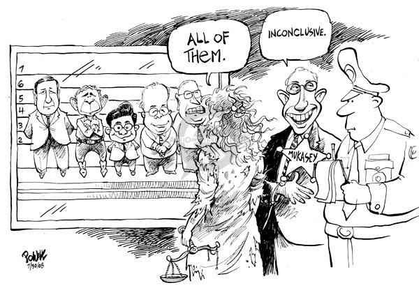 Cartoonist Dwane Powell  Dwane Powell's Editorial Cartoons 2008-07-30 Bush Cheney