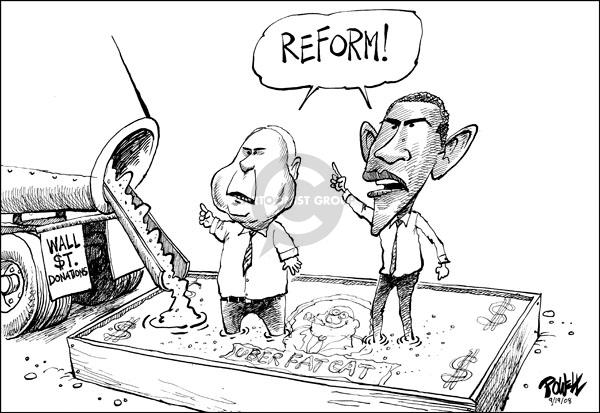 Dwane Powell  Dwane Powell's Editorial Cartoons 2008-09-19 stock market