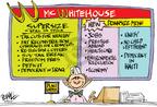 Cartoonist Dwane Powell  Dwane Powell's Editorial Cartoons 2004-03-09 no child left behind