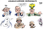 Cartoonist Dwane Powell  Dwane Powell's Editorial Cartoons 2004-05-23 responsibility