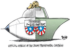 Cartoonist Dwane Powell  Dwane Powell's Editorial Cartoons 2004-09-15 Vietnam War