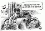 Cartoonist Dwane Powell  Dwane Powell's Editorial Cartoons 2005-02-03 voter