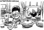 Cartoonist Dwane Powell  Dwane Powell's Editorial Cartoons 2005-02-14 North Korea