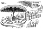 Cartoonist Dwane Powell  Dwane Powell's Editorial Cartoons 2008-10-16 ride