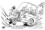 Cartoonist Dwane Powell  Dwane Powell's Editorial Cartoons 2008-11-17 economy