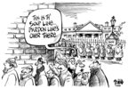 Cartoonist Dwane Powell  Dwane Powell's Editorial Cartoons 2008-12-04 1600 Pennsylvania Avenue