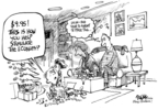 Cartoonist Dwane Powell  Dwane Powell's Editorial Cartoons 2008-12-24 Christmas
