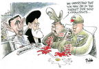 Cartoonist Dwane Powell  Dwane Powell's Editorial Cartoons 2009-06-18 North Korea