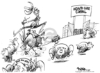 Cartoonist Dwane Powell  Dwane Powell's Editorial Cartoons 2009-07-24 president